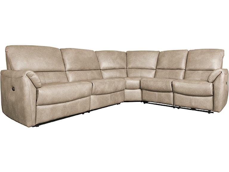Astonishing Elran Living Room Bradley Sectional 4042Brad Norwood Furniture Ncnpc Chair Design For Home Ncnpcorg