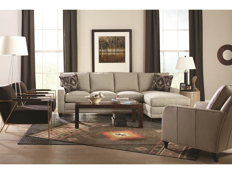 Rowe Living Room My Style Contemporary Sectional With