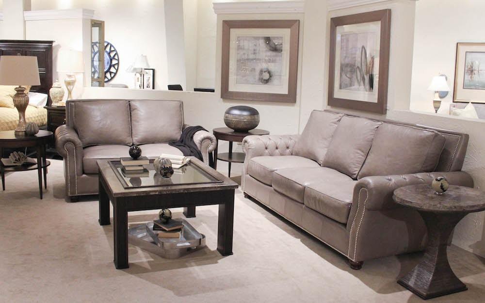 Legacy Leather Leather Sofa U0026 Loveseat 119249
