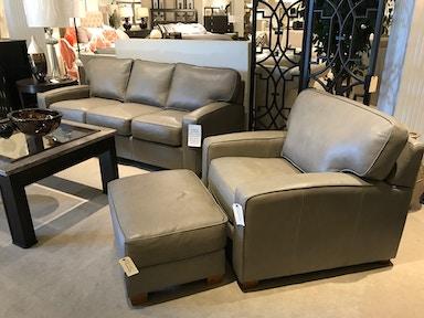 138618 3 Piece Leather Sofa