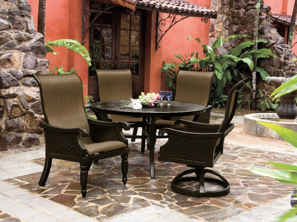 Pride family outdoor patio jakarta sling dining jakarta sd for Outdoor furniture jakarta