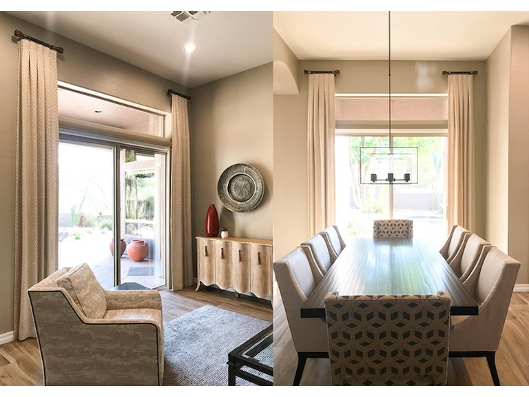 Norwood Furniture Dining Room And Living Drapes MM DL At