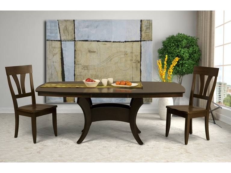 Saloom Crescent Dining Table
