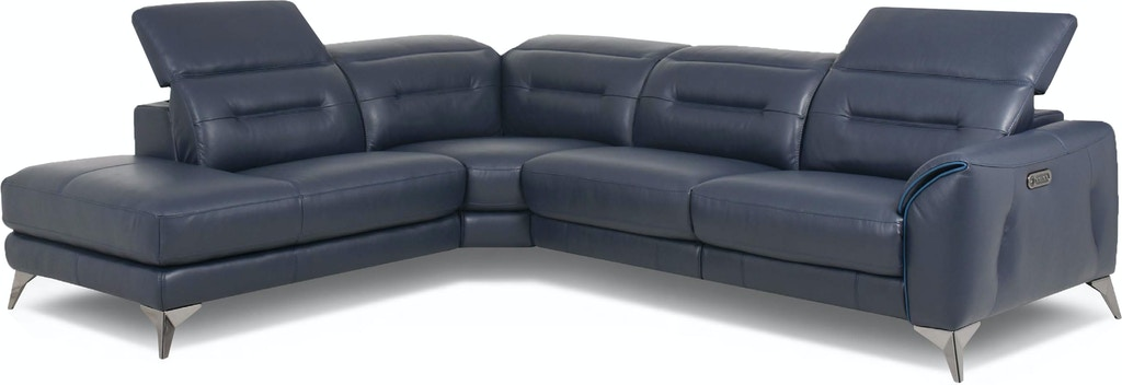 Htl Living Room Leather Sectional Rs B5057 Pr Norwood