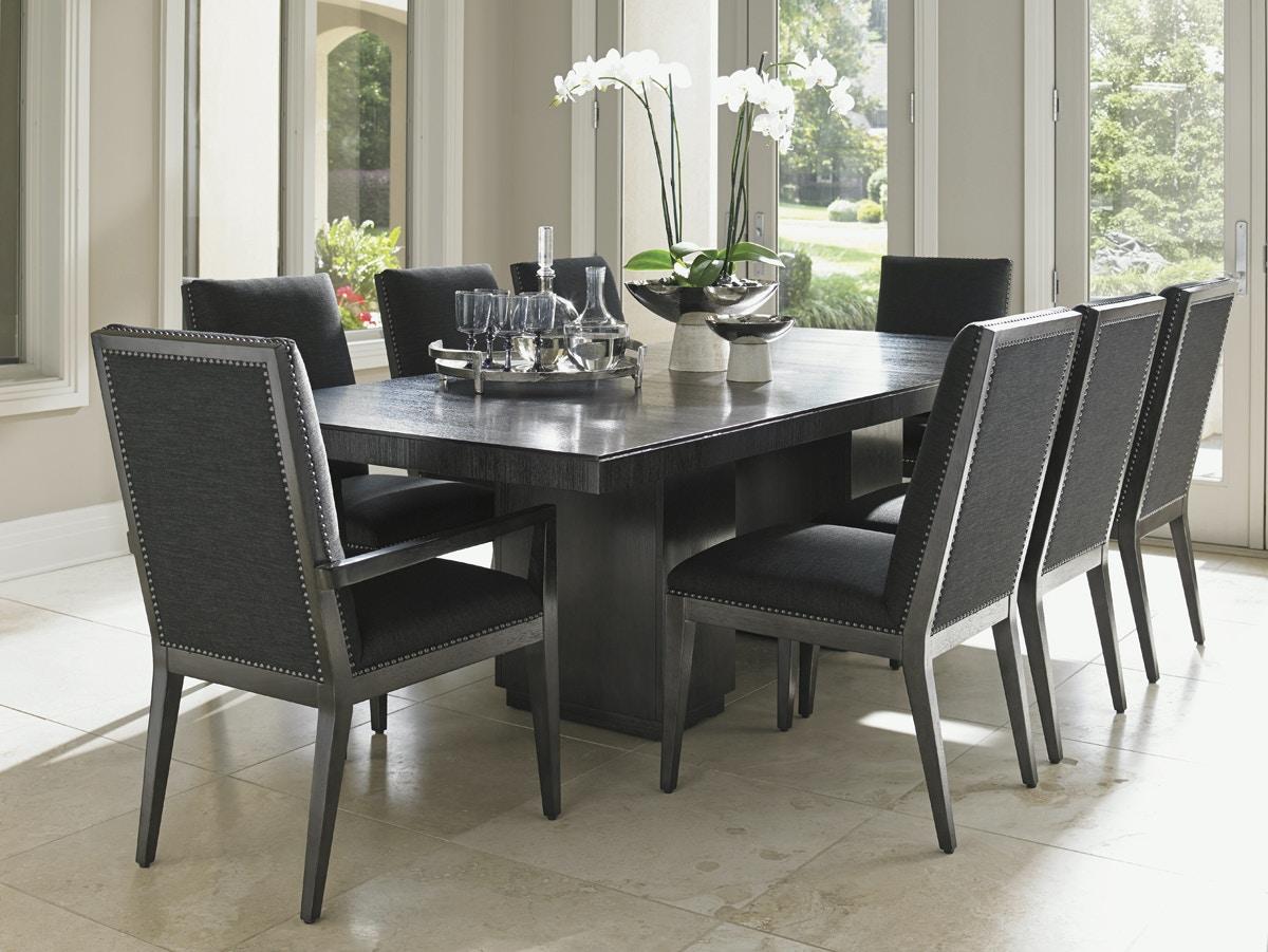 arlington round sienna pedestal dining room table w chestnut finish. 911-876c. carrera modena double pedestal dining table arlington round sienna room w chestnut finish