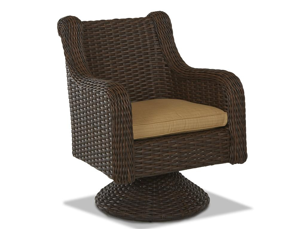 Klaussner Outdoor Laurel Swivel Rocking Dining Chair W1000 LSRDC