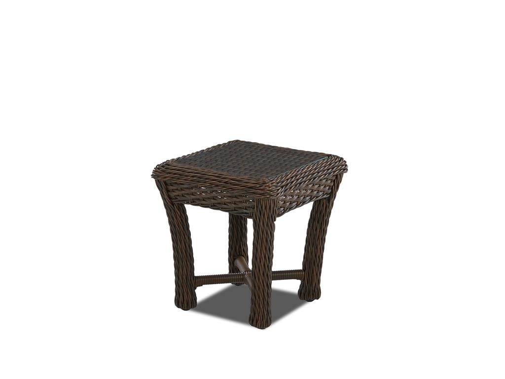 Klaussner Outdoor Laurel Square Accent Table W1000 Laurel SAT Part 88
