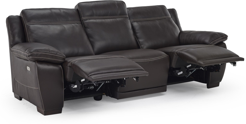 Natuzzi Living Room modern Italian leather motion sofa B875 ...