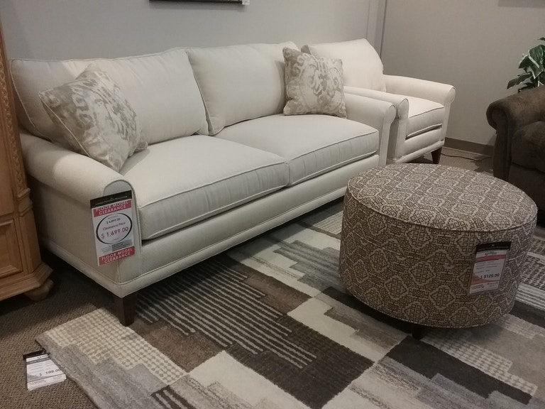 Ifr Clearance Floor Model Rowe My Style Ii Matching Sofa