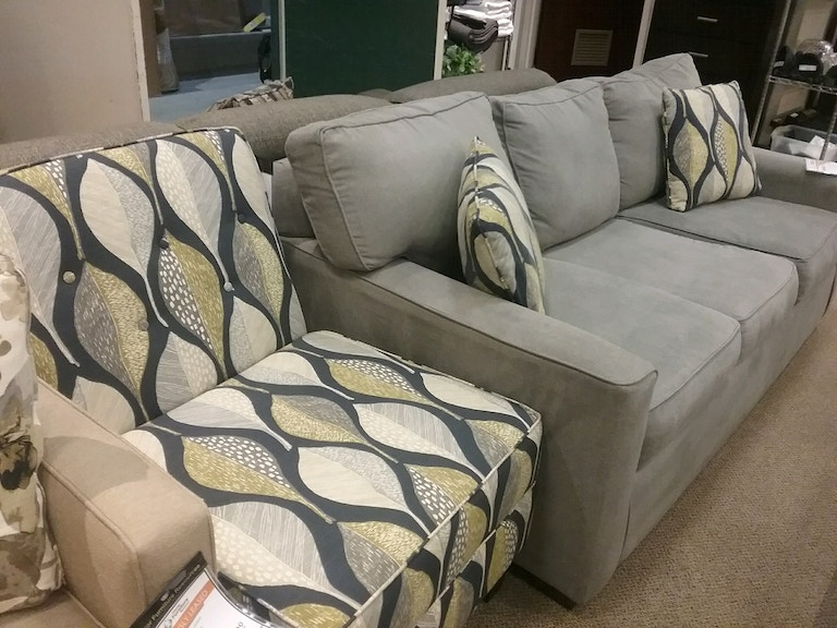 Pantego Sofa ($299) and Matching Accent Chair ($175)