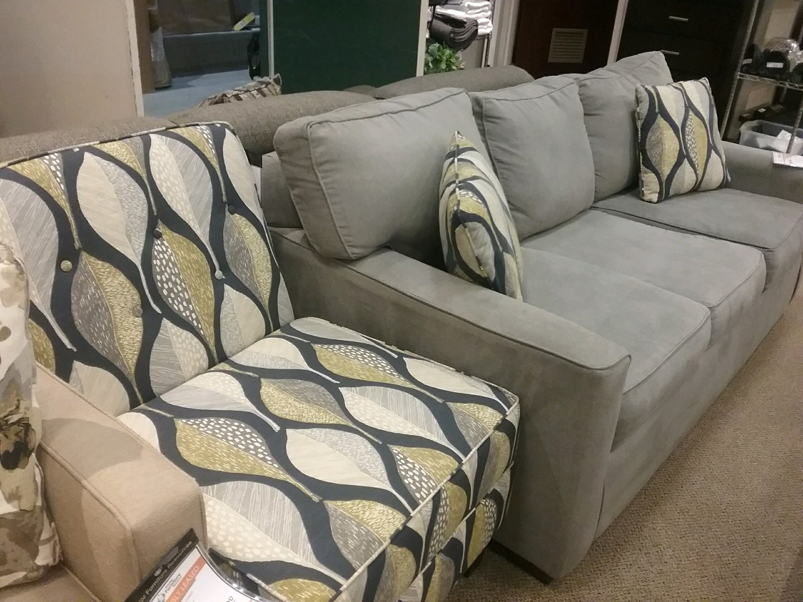 Pantego Sofa 299 And Matching Accent Chair 175