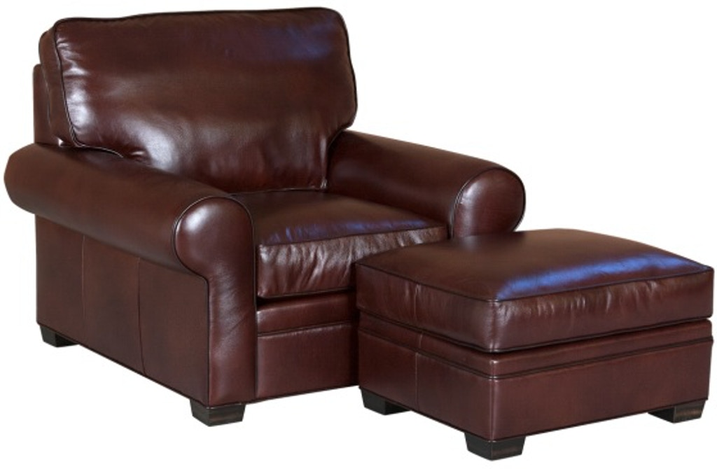 Prime Classic Leather Living Room Library Chair And Ottoman 11516 Dailytribune Chair Design For Home Dailytribuneorg