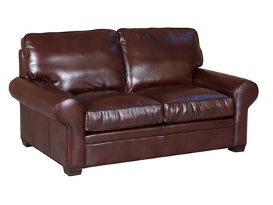 Classic Leather Library Loveseat 11517
