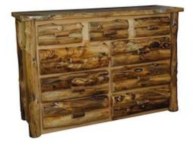 Whole Amish Aspen Dresser 1375