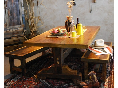 Uintah Log And Reclaimed Dining Room Black Mountain Dining