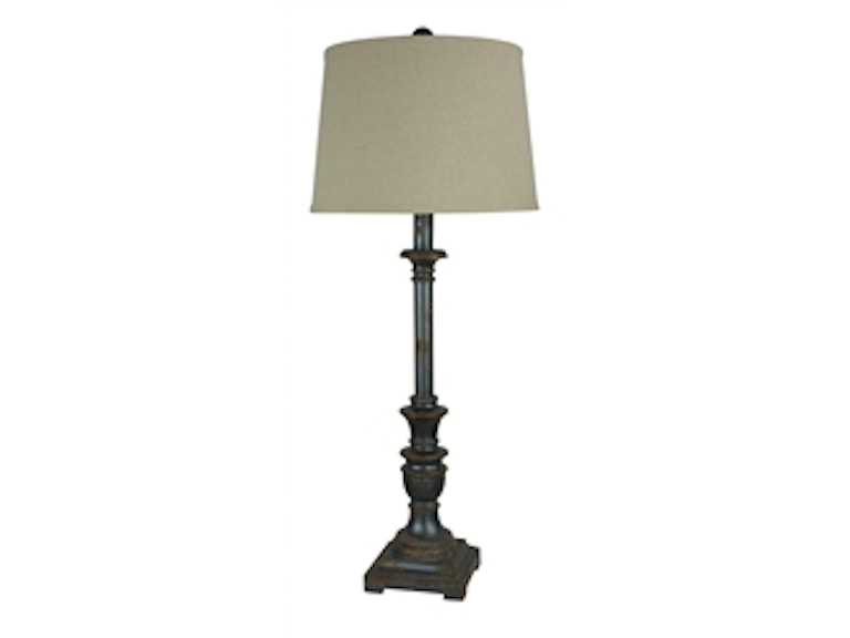 Forty west 35 inch rory buffet lamp 71022
