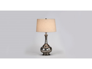 Jatex International Ginnie Lamp - Silver 27007