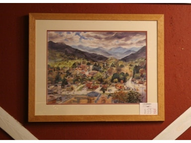 Shop Annes Attic Framed Waynesville Picture 106AT04821