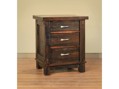 Ruff Sawn Timber Night Stand S TND3126