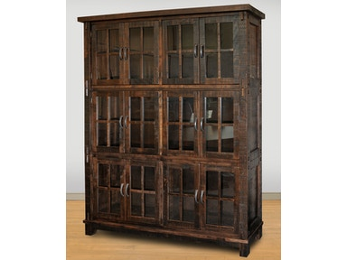 Ruff Sawn Timber Wall Cabinet TWC8472