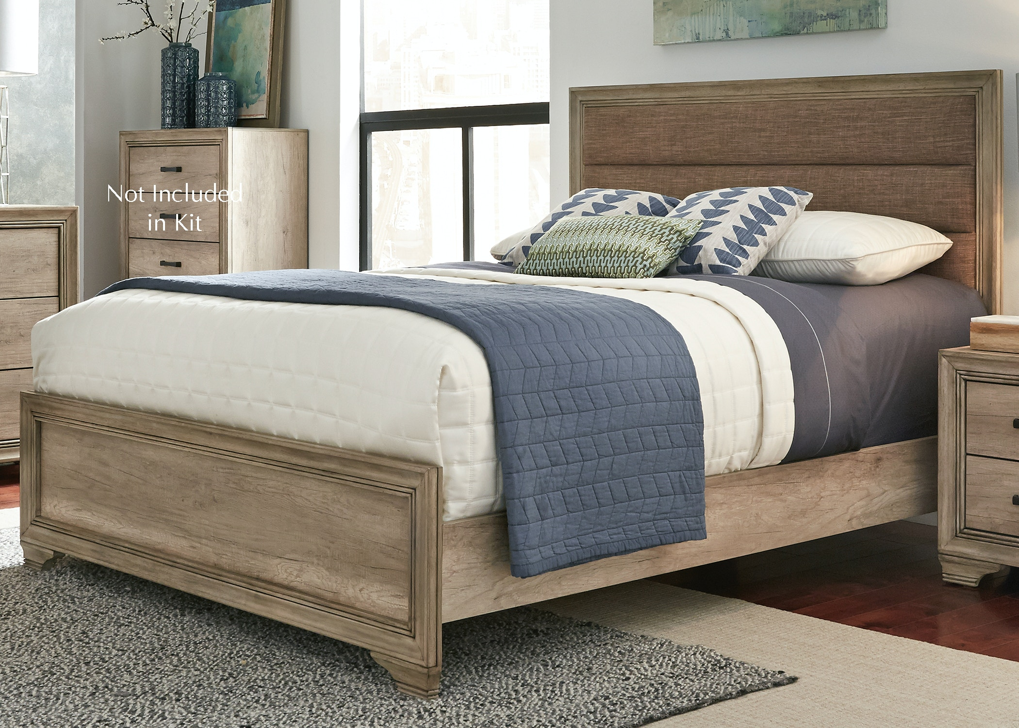 Charmant Liberty Furniture Queen Upholstered Bed 439 BR