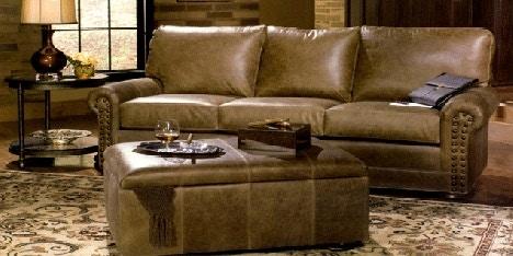 Tyndall Manor 3 Cushion Lawson Sofa With Bun Feet TYN 59000