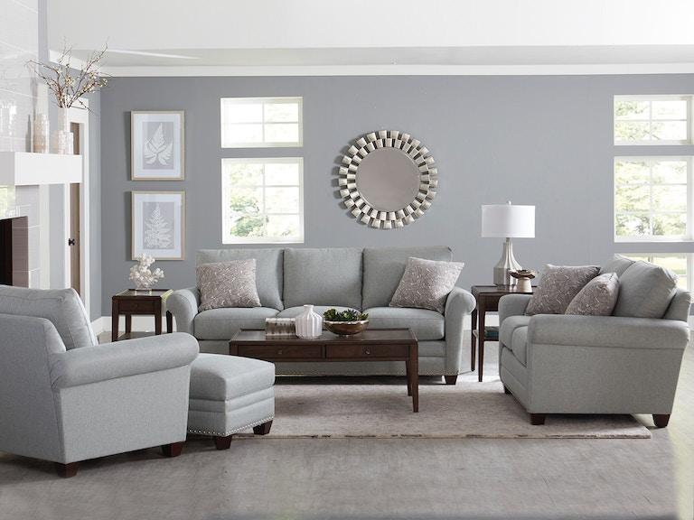 Bassett Living Room Anderson Sofa BAS-3905 - Tyndall Furniture ...