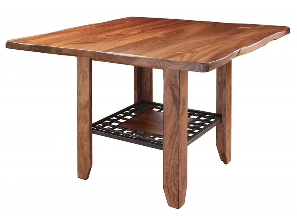Outlet dining room provence counter height dining table 194090 finesse furniture interiors - Dining room table canada ...