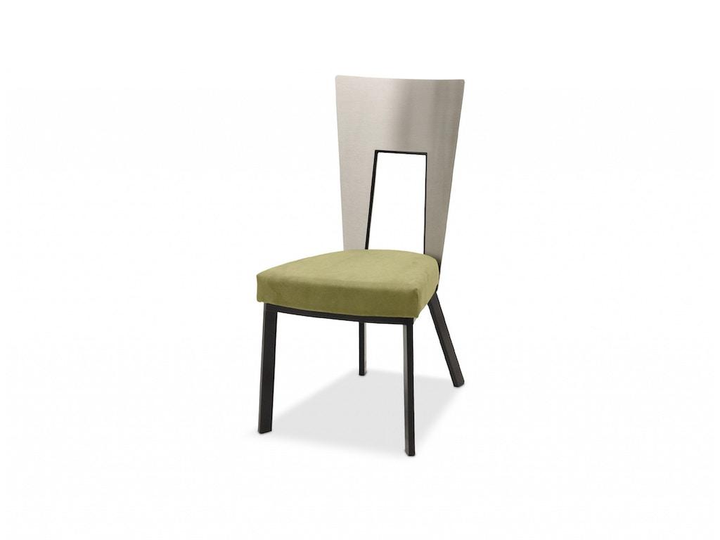 Elite Modern Dining Room Regal Dining Chair 421 Finesse Furniture Interiors Edmonton