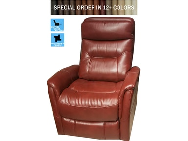 Finesse Motion Benjamin Swivel Recliner - Claret 340860