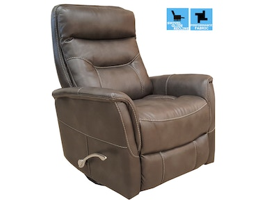 Finesse Motion Benjamin Swivel Recliner - Bolero Slate 340450