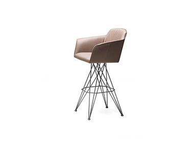 Finesse Modern Flamino Swivel Stool Flamino