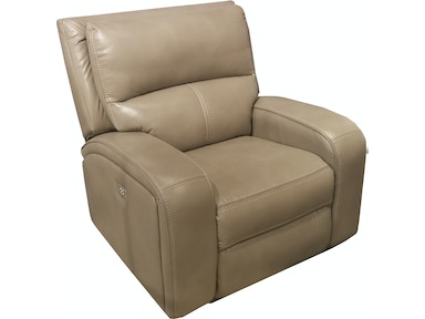 Finesse Motion Flynn Power Motion Leather Recliner 331940