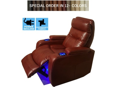 Finesse Motion FX Theatre Recliner - Claret Bolero 304650