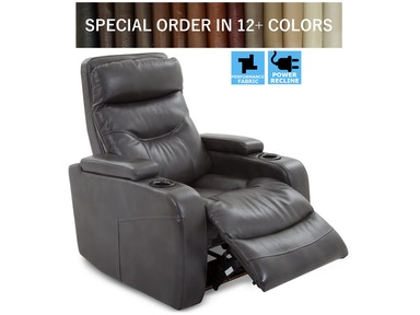 Finesse Motion FX Theatre Recliner - Slate Bolero 217590