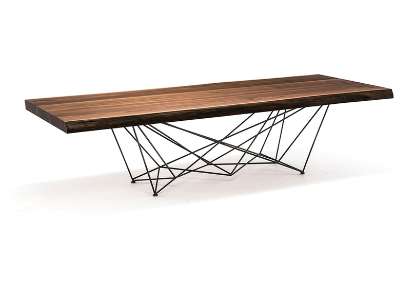 ad5c8b904529 Finesse Modern Dining Room Gordon Deep Wood Dining Table at Finesse  Furniture   Interiors