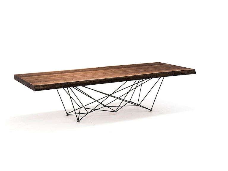 Finesse Modern Gordon Deep Wood Dining Table