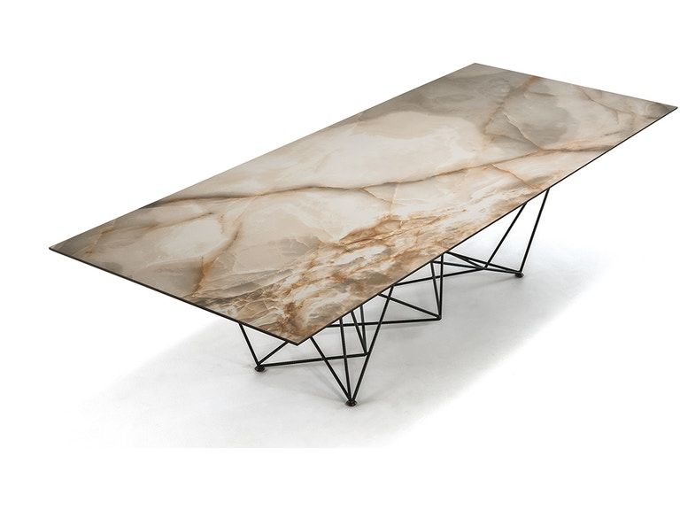 Finesse Modern Gordon Keramik Dining Table