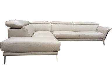 Finesse Modern Heni 2 PC Sectional - 100% Leather PHENI