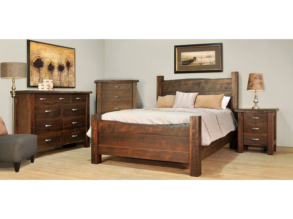 Solid Maple Bedroom Furniture Ruffsawn Bedroom Live Edge King Bed Solid Maple Made In Canada
