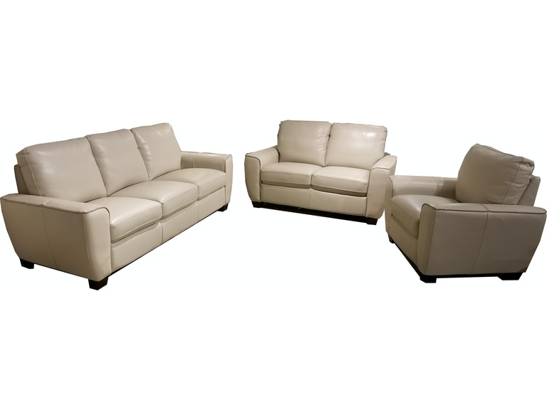 Finesse Leather Metro 3 Piece Sofa Group Pmetro