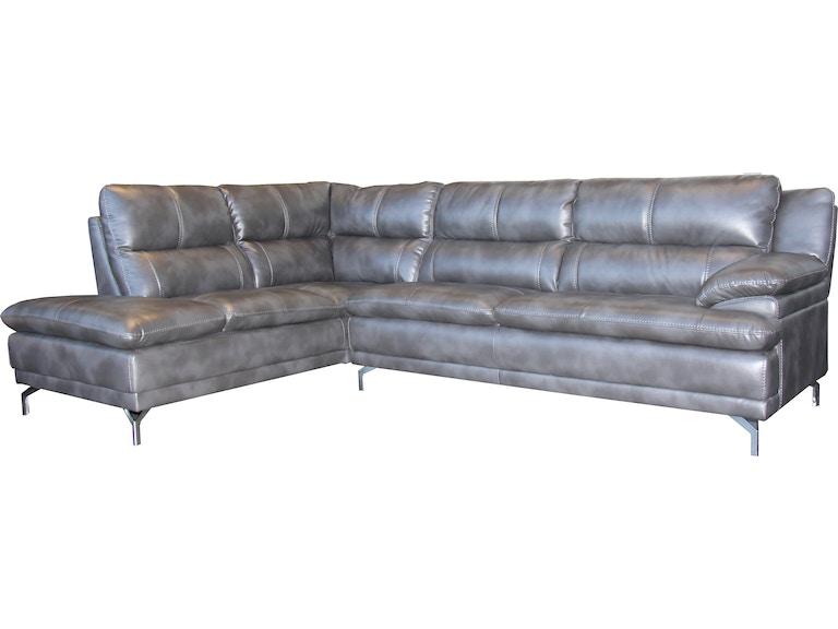Outlet living room moderno sectional slate bolero for Moderno furniture