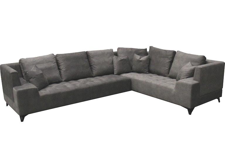 Finesse Modern Odessa Sectional Podessa Finesse Furniture