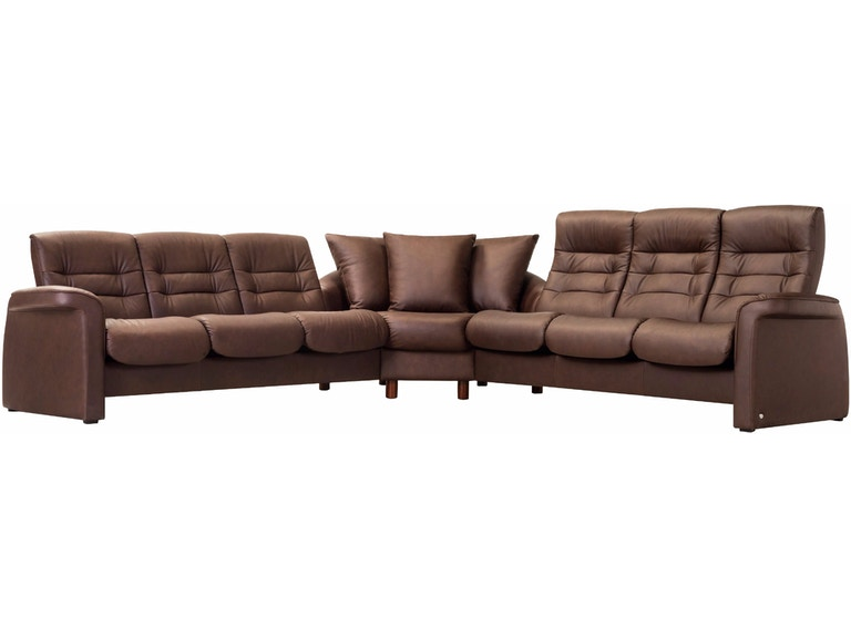 Admirable Living Room Stressless Sectional Sapphiresect Finesse Caraccident5 Cool Chair Designs And Ideas Caraccident5Info