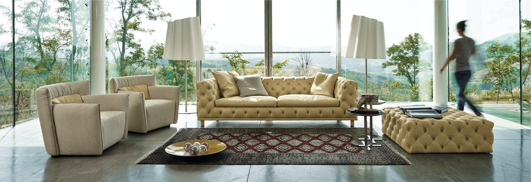 Finesse Modern Aston Sofa By Gamma