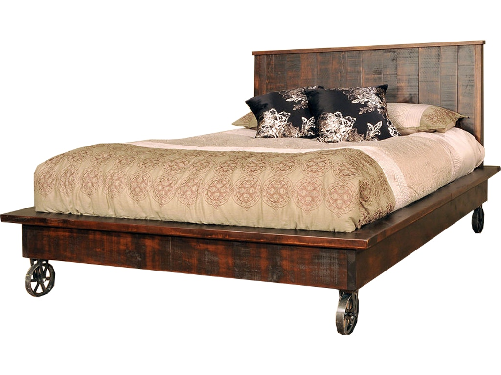 Punk Bedroom Ruffsawn Bedroom Steam Punk Bed Solid Maple Made In Canada