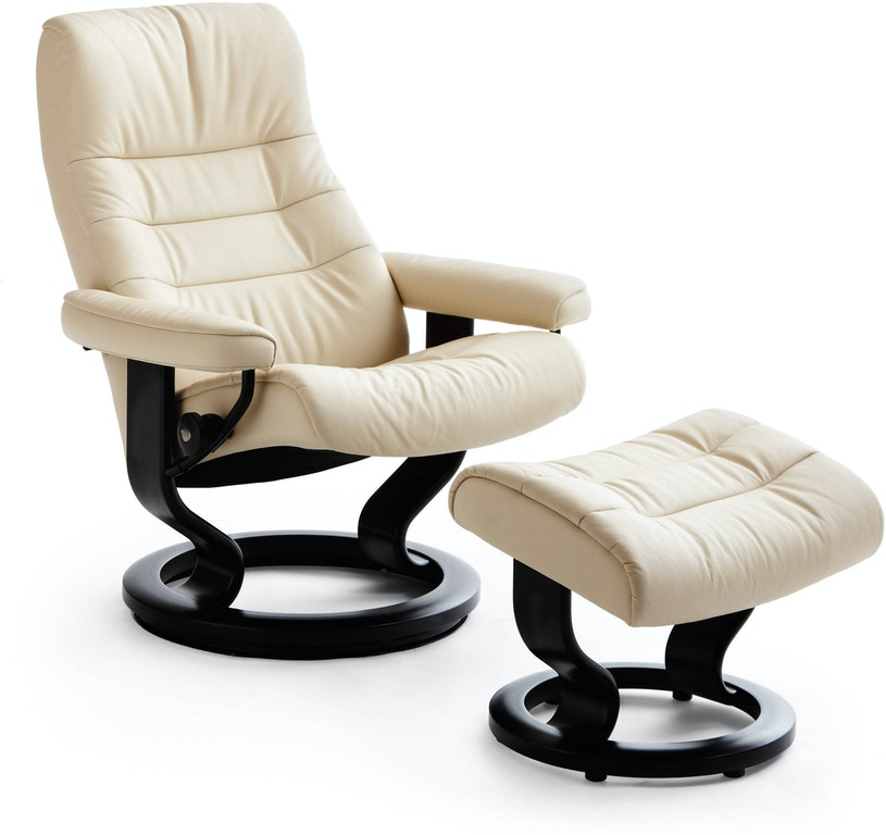 Amazing Stressless Ekornes Opal Classic Chair And Ottoman Gmtry Best Dining Table And Chair Ideas Images Gmtryco