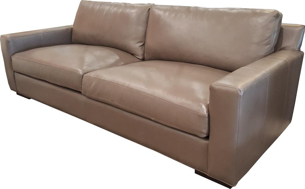 Hudson Teagan Sofa 100 Leather 419660
