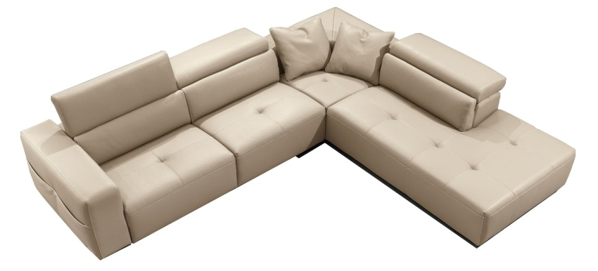 Finesse Modern Tiffany Sectional By Gamma
