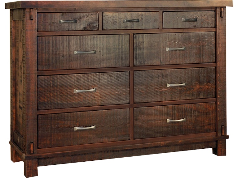 Ruffsawn Timber 9 Mule Dresser Chest Solid Maple Made In Canada Timbdress
